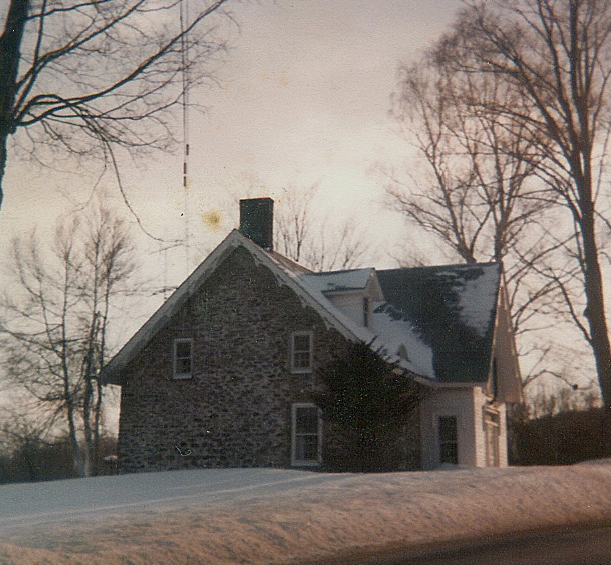 Richard Brodhead house, built 1753, northside