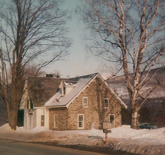 Richard Brodhead house, built 1753