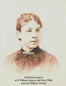 Elizabeth Sargent Trewin (Image from my family's personal collection)