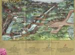 Present-day map of Bushkill Falls, Pennsylvania