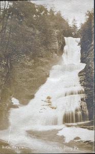 High Falls, Dingman's Falls, PA (CREDIT: Zillah Boles Trewin)