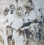 Zillah Trewin in center