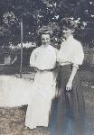 Zillah Trewin and May Chenoweth (nee Roberts)