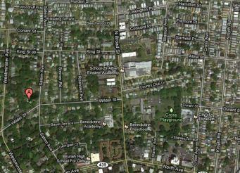 Aerial of Elizabeth, NJ, today