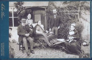 George Wills's descendants, Northamptonshire, no later than 1897