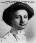 Bertha Woodruff was maid of honor