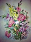 Bertha Woodruff Watercolor