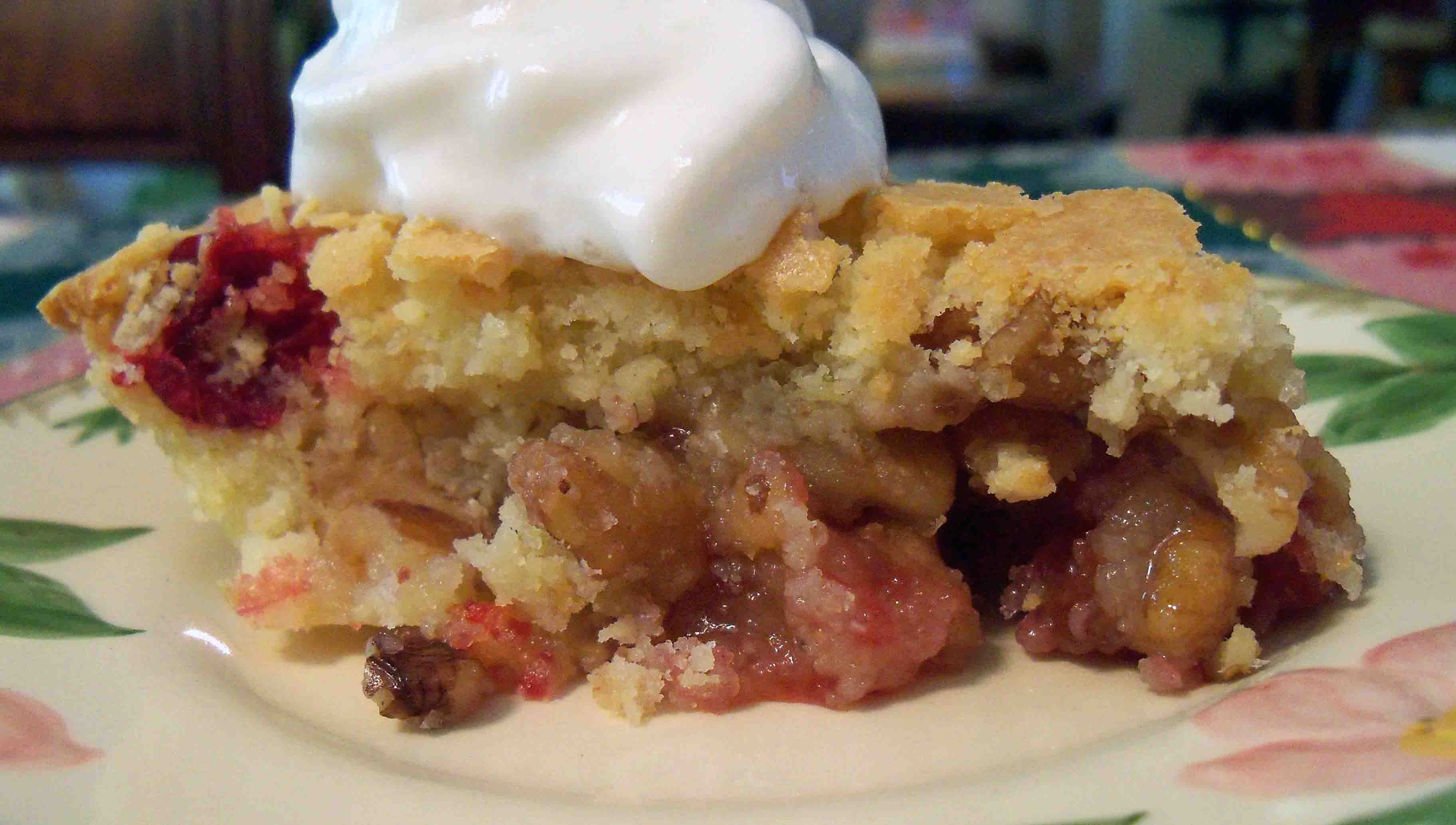 Holiday Recipe: Cranberry-Walnut Pie | Chips Off the Old Block
