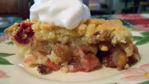 Cranberry-Walnut 'Pie'