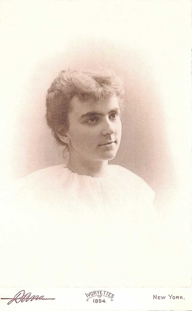 "Mary (""Minnie"") Emma Ludey (1873-1938), age 21 (Courtesy of Ruth Kirby Dean, great granddaughter)"