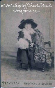 Zillah Trewin, circa 1885