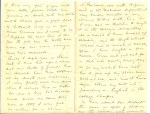 Letter, page 2-3