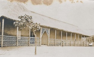 """A Bible school building, Luanza, Africa"""