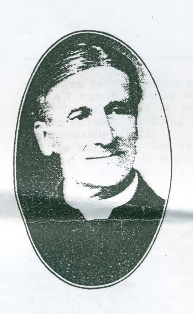 Rev. Samuel Sargent PhD (image courtesy of Frances S. Cowles)