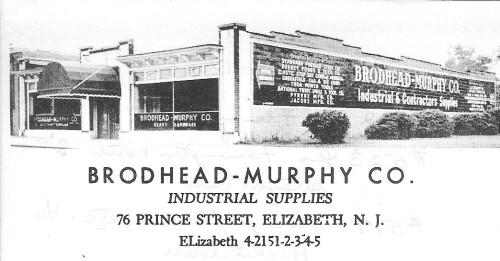 Brodhead-Murphy Co. letterhead