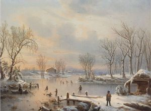 View near Elizabethtown, NJ, 1847