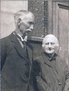 James Boles and wife Sarah Nixon, probably late 1930s