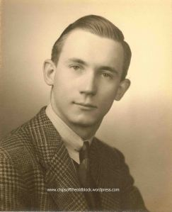 Charles Brodhead, HS graduation, 1939