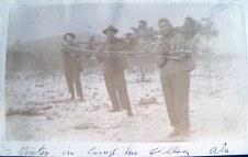 """Winter in Camp McClellan, Alabama"""