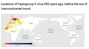 Haplogroup V - 23andme.com