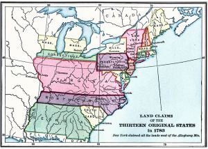 Land claims, 1783 (credit: Florida Center for Instructional Technology at the University of South Florida-website below)