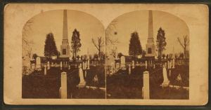Laurel Hill Cemetery, stereoscopic views (in public domain - Wikimedia Commons)