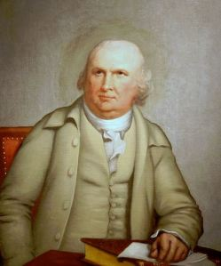 Robert Morris, painted by Robert Edge Pine, ca. 1785