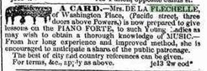 Brooklyn, NY, Daily Eagle, 21 Jun 1849 (www.fultonhistory.com)