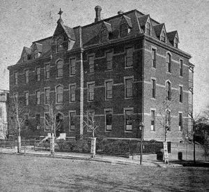 St. Michael's Hospital, 1900