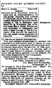 Queens County Court news, Queens County Sentinel, 1897 (www.fultonhistory.com)