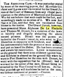 Evening Post (NY), 2 Sept 1838