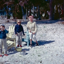 'Wintery' Sanibel weather - late 1960s