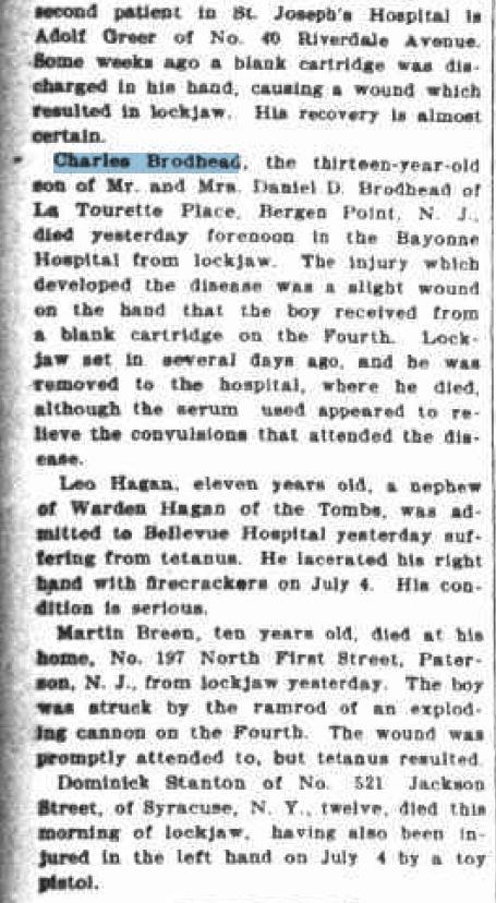 The New York Evening Post, 15 July 1899 (www.fultonhistory.com)