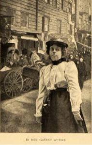Lower East Side girl, 1899