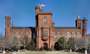 Smithsonian Headquarters Building, 1847; Architect: