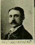 Henry C. Brodhead (image from Wyoming Valley in the 19th Century. Art Edition by SR Smith, Vol I, Wilkes-Barre Leader Print, 1894)