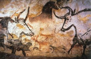 Photography of Lascaux animal painting.  February 2006. Author: Prof saxx (Wikimedia Commons - Creative Commons Attribution-Share Alike 3.0 Unported)