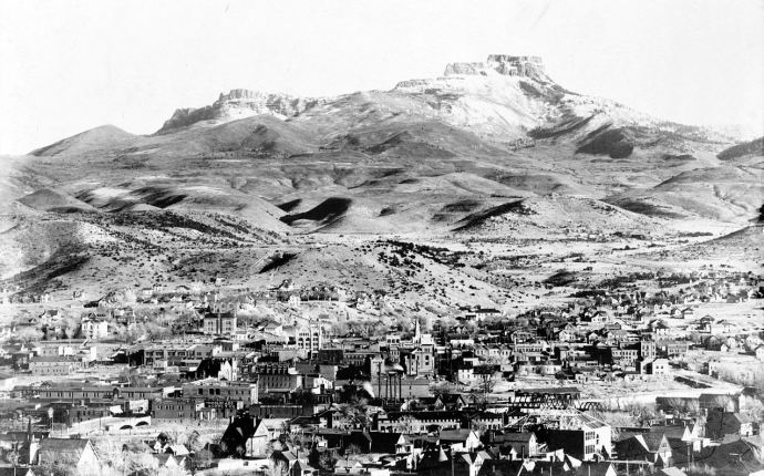 Trinidad, Colorado, to the south of Aguilar and the Brodhead mines, 1905 (Wikipedia: Public domain image)