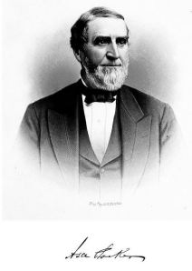 Judge Asa Packer (From Portrait and Biographical Record of Lehigh, Northampton and Carbon Counties (Chicago: Chapman Publishing Company, 1894))