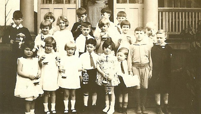 1927 Birthday Party, Elizabeth, NJ