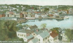 Norwich Harbor, 1906