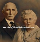 The bride's parents: Wm Earl Woodruff & Wealthy Ann Angus