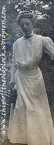 Zillah Trewin, 1907, several years after 'Aunt Jennie' passed away