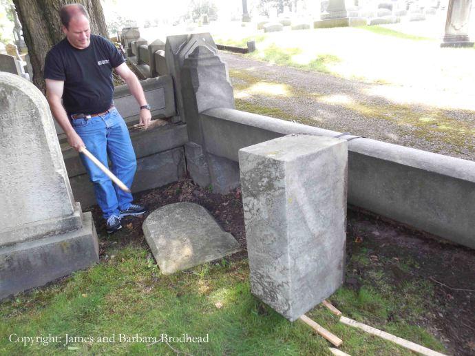 4_Cornelia Dingman Brodhead Headstone 5 copy