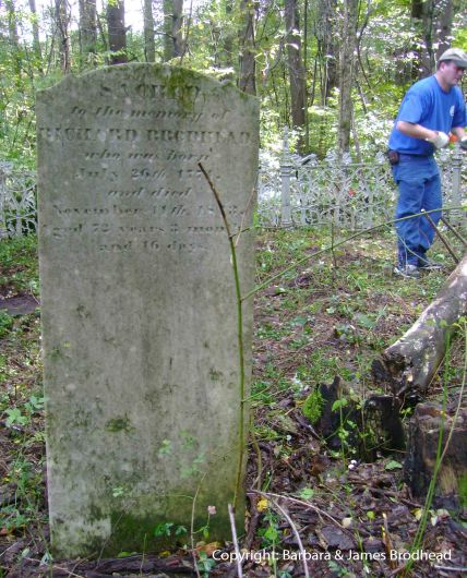 Richard Brodhead Sr. headstone