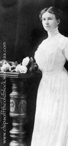 Fannie Bishop Woodruff, wedding photo?