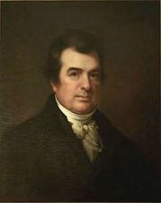 Portrait of Dr. David Hosack by Rembrandt Peale, 1826 (Wikipedia image)
