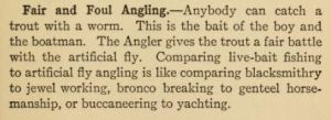 Fair and foul angling, p. 119