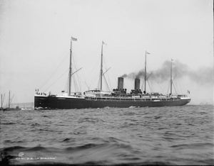 SS La Gascogne (US Library of Congress, no known usage restrictions)