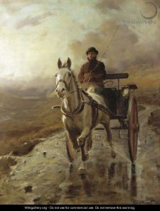 """The Country Doctor"" oil on Canvas. Source: http://www.wikigallery.org/; Author: Charles Stewart"